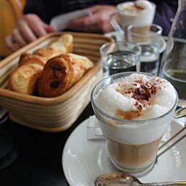 Lattes in Paris