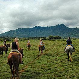 Waterfall Horseback Ride!
