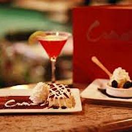 Dessert & Drinks at Cocina Del Mar