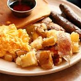 Breakfast at Mama's Royal Cafe