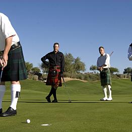 Golfing in Scotland