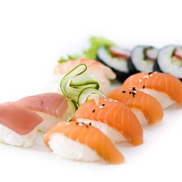 Sushi and Shashimi Dinner