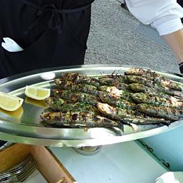 Dinner on Lake Garda, Italy