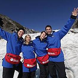 Heli Glacier Hiking