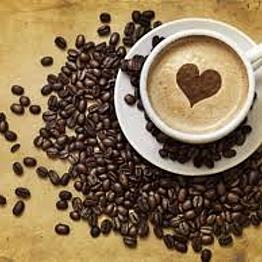 One week supply of coffee