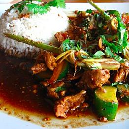 Dinner at Melting Wok Warung
