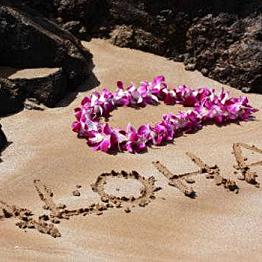 Flight from Honolulu to Kauai Island