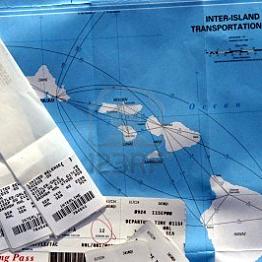 Flight from Kauai Island to Maui
