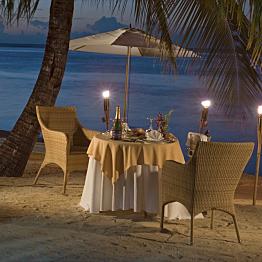 Dinner at Gourmet Resort Restaurant