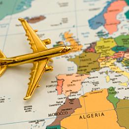 Round-Trip Plane Tickets to Europe