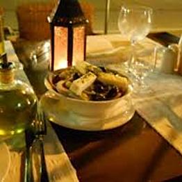 Romantic Greek Dinner