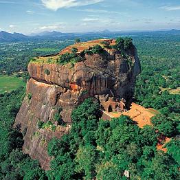 Ancient Rock Fortress - Lion Rock