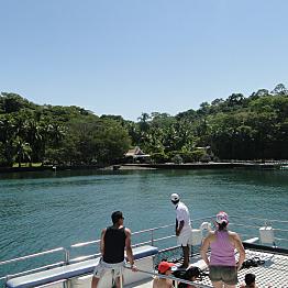 One day tour via Catamaran