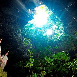 Belize Jungle Trek with Zipline, Repel and/or Kayaking