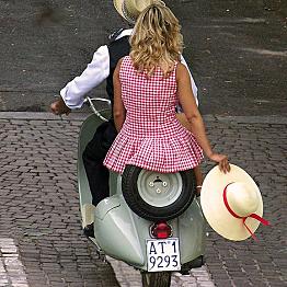 Vespa in Italy!