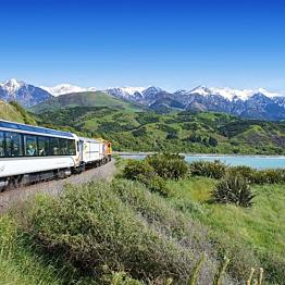 Coastal Pacific and TranzAlpine Train Tickets