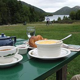 Adventures: Tea Time at Jordan Pond