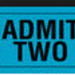 Admission fees!