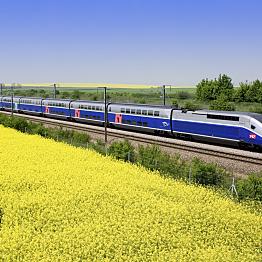 Riding on the TGV!