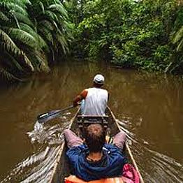 1 hour canoe ride
