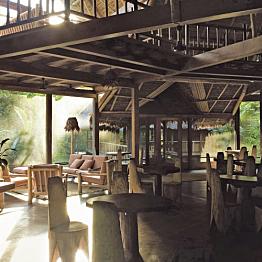 Dinner at Jungle Lodge