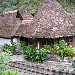 Dinner at Machu Picchu