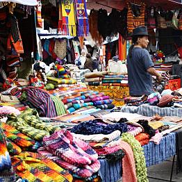 Shop at Otavalo markets