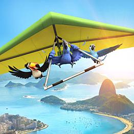 Hang Gliding over Copacabana