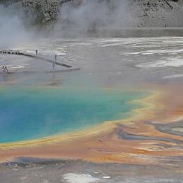 Boiling Lake Hot Spring hike