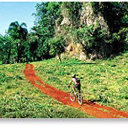 Island biking trip