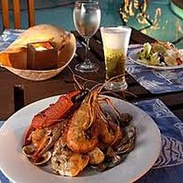 Dinner in Sihanoukville, Cambodia