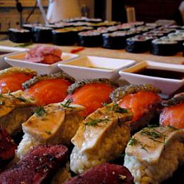 Epic Sushi Feast!