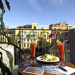 Three nights in the Grand Hotel Palatino