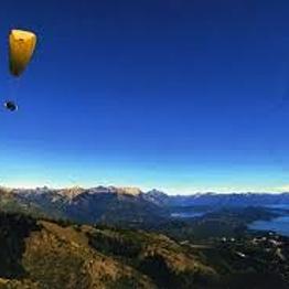Paragliding in Bariloche