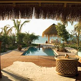 Beach Resort in Mozambique