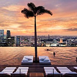 Two nights at Marina Bay Sands Hotel