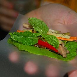 Delicious dinner in Hanoi