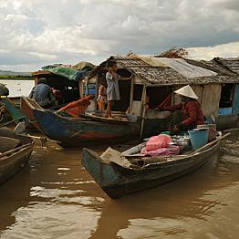 Life on the Mekong River