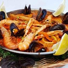 Spanish seafood feast