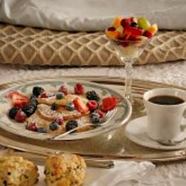 Delicious Breakfast in Bed