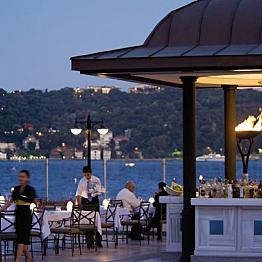 Dinner on the Bosphorous at Aqua Restaurant