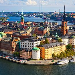 Walking tour of Stockholm