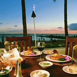 Dinner in Paradise!