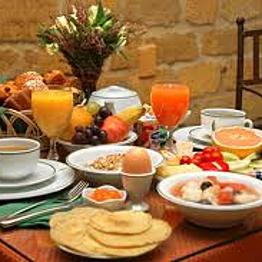 Breakfast at the Mendocino Rock Inn
