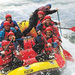 Taupo, Turangi & Tongariro White Water Rafting
