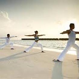 Full Moon Sandbank Yoga Experience
