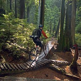 Mountain Biking in Vancouver