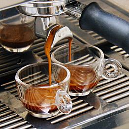 Our morning Espressos!