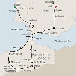 GLOBUS Spain, Portugal, & Morocco Tour