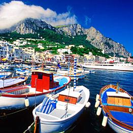 Private tour of Capri, including the Blue Grotto